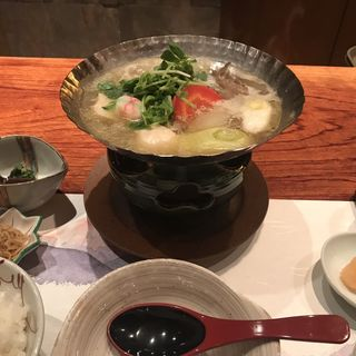 水たき鍋(銀座治作 (ぎんざじさく))