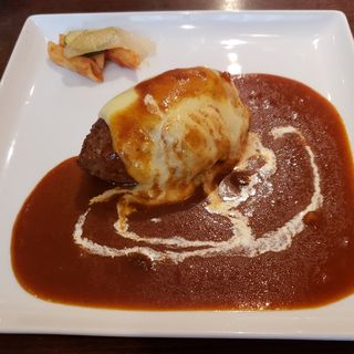 デミグラスチーズハンバーグ(キッチン ハセガワ (Kitchen Hasegawa))