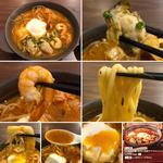 広島産牡蠣と海老の海鮮チゲ