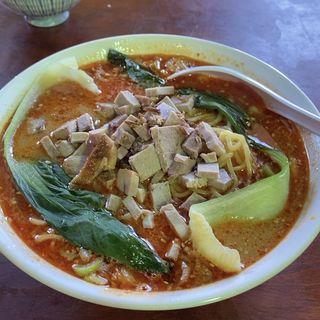 味噌坦々麺(赤いやね)