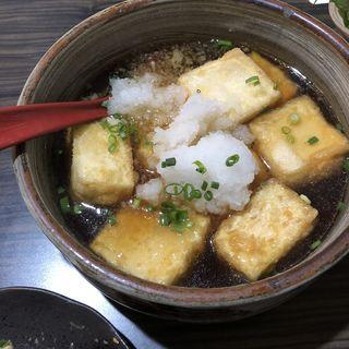 揚げ出し豆腐(男子厨房酒場 蔵の灯)