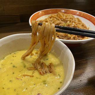 担々まぜつけ麺(麺や一芯)