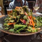 春菊とタコのサラダ