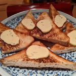 白トリュフバタートースト