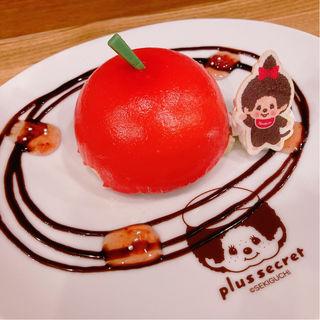 モンチッチちゃんのりんごケーキ(+secret)