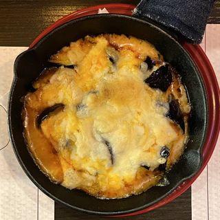 なすのミートソースチーズ焼