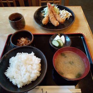 海老フライ(和風料理 しま )