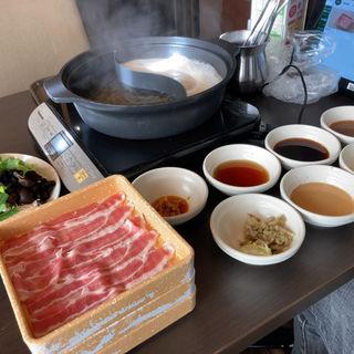 三元豚バラ肉食べ放題コース
