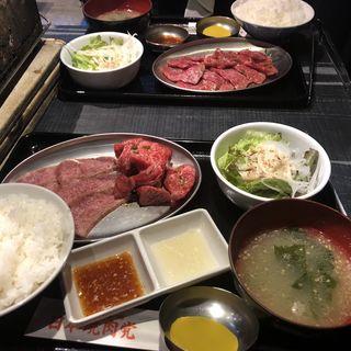 4種盛り合わせ定食(日本焼肉党 )
