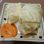 生キャベツ(味噌マヨ)