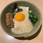 手作り豆腐のねばねば小鉢