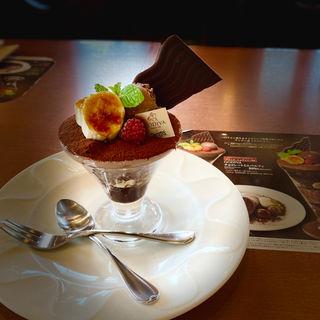 GODIVA チョコレートミニパルフェ(デニーズ 西国分寺店 (Denny's))