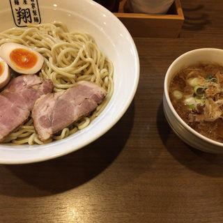濃厚魚介つけ麺(自家製麺 麺屋 翔)
