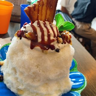 イチヂクの塩キャラメルトースト(cafe202)