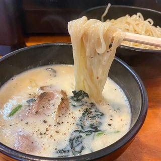 牡蠣クリームつけ麺(ラーメン 哲史)
