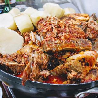 ジャガイモ鍋(韓国家庭料理 漢陽)