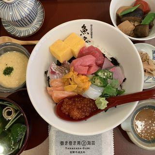 魚忠丼(田中田式 海鮮食堂 魚忠 西麻布店)