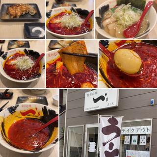 辛味ラーメン(5辛)(屋台拉麺一's 稲毛本店 (やたいらーめん いちず))