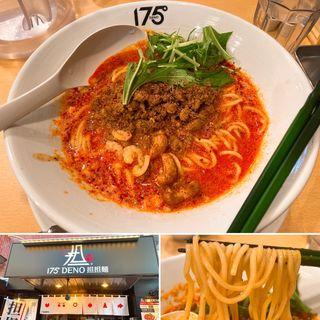 白ごま汁あり坦々麺(175°DENO坦々麺 仙台店)