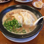 濃厚雲呑麺