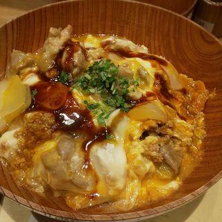 食べログ限定コースA(名古屋コーチン親子丼 サラダ・スープ付+ドリンク 黒烏龍茶)(酉しみず (トリシミズ))