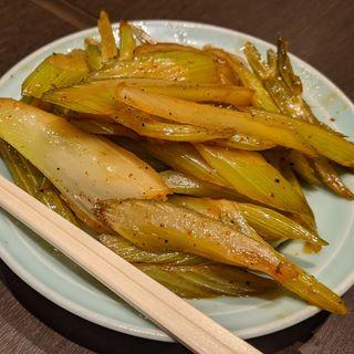 セロリ炒め(大衆料理 川治 )