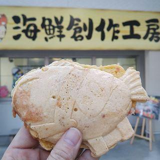 海鮮塩竈焼き(海鮮せんべい塩竈 )