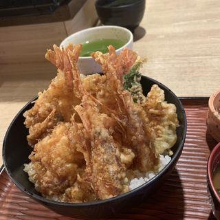 海老と穴子の天丼(あなごや )