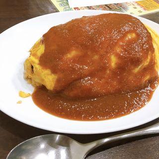 トマトソース チキン(おむらいす屋 )