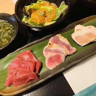 会津盛り定食(福島ふるさと料理 おらえ)