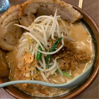 北海道味噌漬け炙りチャーシュー麺(麺場 田所商店 中原店 )