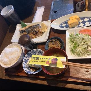 さば塩焼き定食(今泉キッチン)