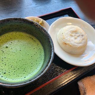 抹茶セット(大樟館)