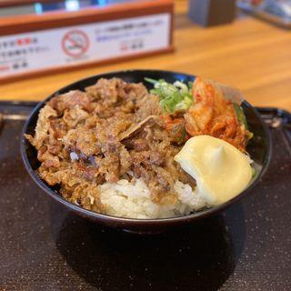 キムチカルビ丼(韓丼 中川小碓通店)