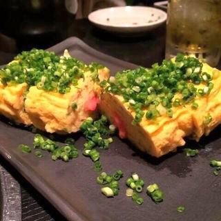 明太の卵焼き(博多もつ鍋 蟻月 恵比寿)