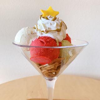 クリスマスパフェ(BABBI GERATERIA KYOTO)