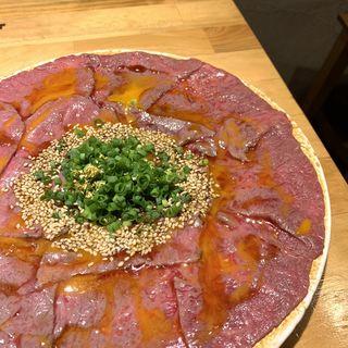 黒毛和牛 炙りユッケ(肉割烹バル)