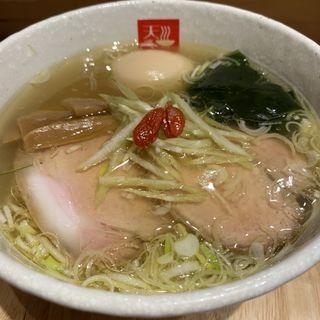味玉塩らあめん(麺処 天川)