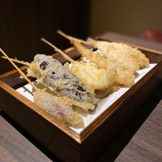 天ぷら盛り合わせ(五種)