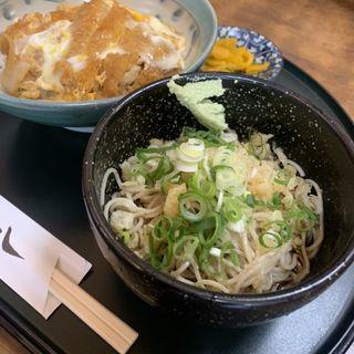 蕎麦、カツ丼セット(かど八 )