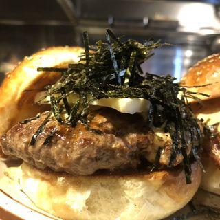 山椒バター磯部バーガー(Hyoe's Burgers+Fries)