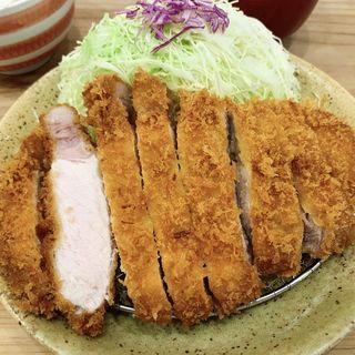 特上ロース定食(とんかつぱんぱん)