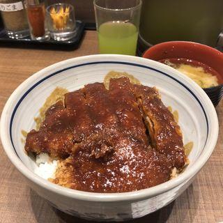 味噌カツ丼(矢場とん イオンモールナゴヤドーム前店 )