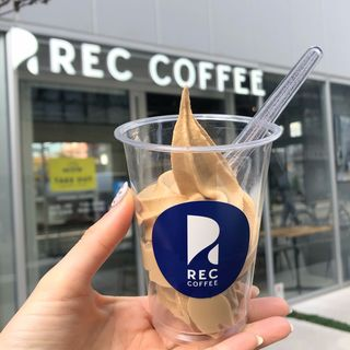 コーヒーソフトクリーム(REC COFFEE レックコーヒー)