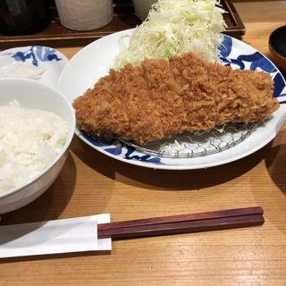ロースカツ定食(とんかつ 寿々木 )