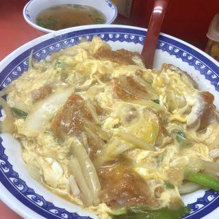 チキンかつ丼(豚麺 )