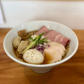 特製煮干し醤油らぁめん(限定)