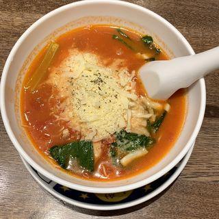 太陽のチーズラーメン(太陽のトマト麺Next サンシャインシティ (タイヨウノトマトメンネクスト))