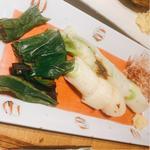 下仁田葱のホイル焼き