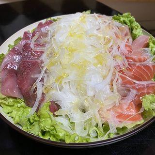 カルパッチョ風(自宅)